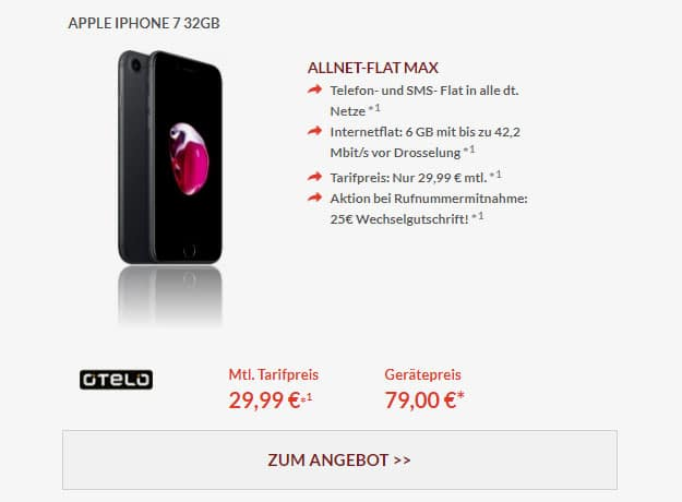 iphone 7 otelo allnet-flat max