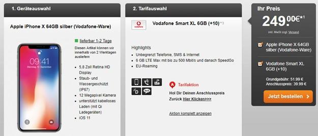 Lieferzeiten Iphone  Vodafone