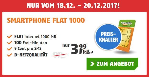 klarmobil Smart-Flat 1000 Vodafone