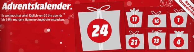 MediaMarkt Adventskalender & tolle Deals rund um die Weihnachtszeit