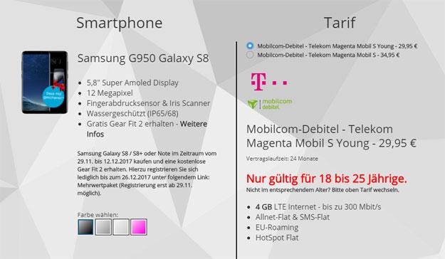 samsung galaxy s8 mobil s