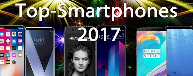 Die besten Top-Smartphones 2017