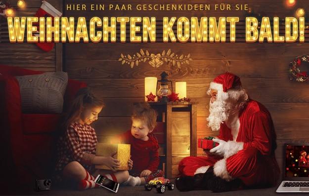 Gearbest mit Weihnachts-Deals - günstig kaufen