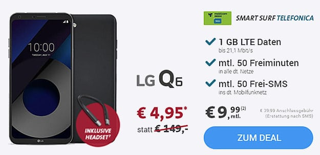 lg q6 o2 smart surf md