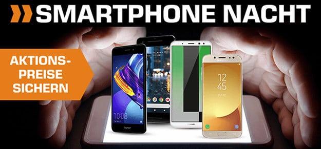 Saturn Smartphone Nacht