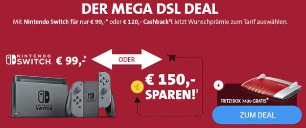 Vodafone Red DSL + Nintendo Switch