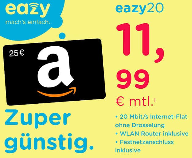 eazy amazon bonus-deal