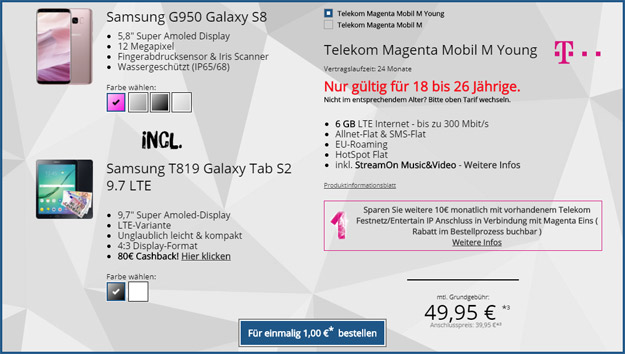 galaxy s8 galaxy tab s2 mobil m young