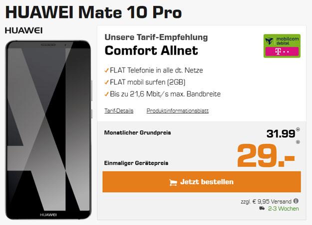 huawei mate 10 pro telekom comfort allnet