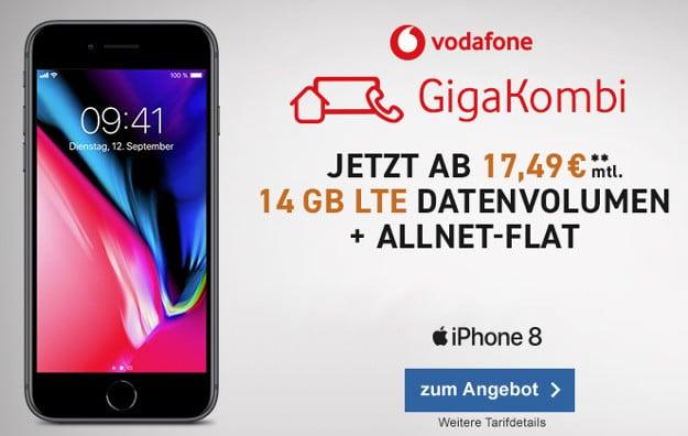 Apple Iphone 8 8 Plus Vodafone Red M Ab Eff 853 Mtl