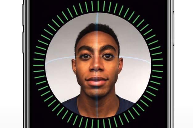 Face ID Gesichtserkennung beim Apple iPhone X