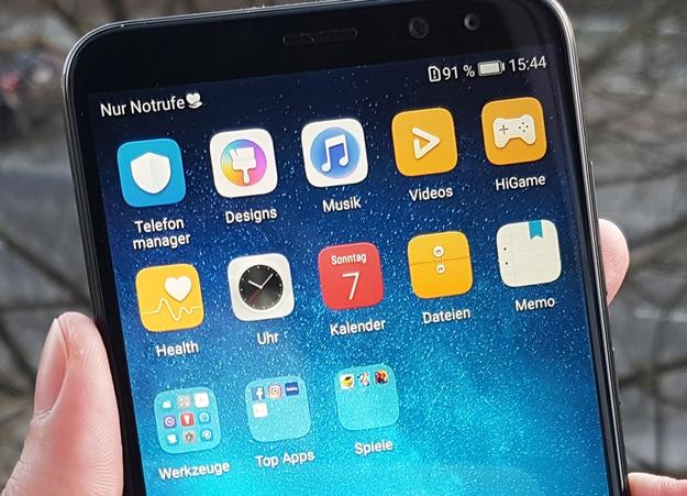 Android 7.0 und aufgeräumtes System - Huawei Mate 10 Lite im Test