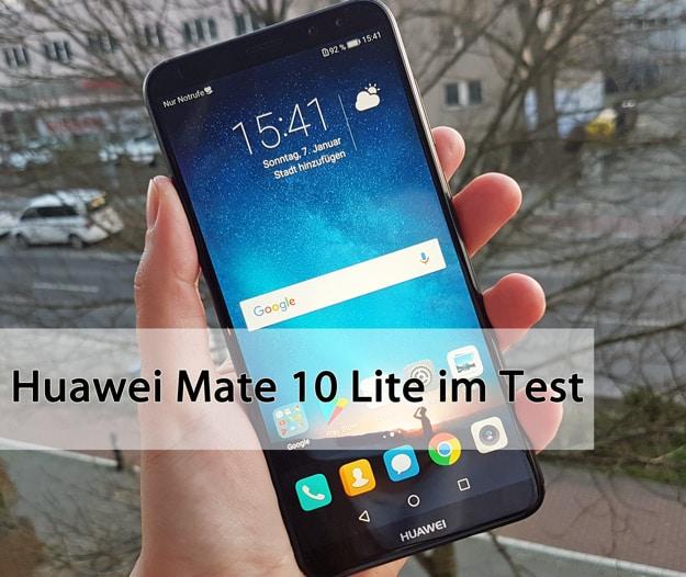 Huawei Mate 10 Lite im Handy-Test