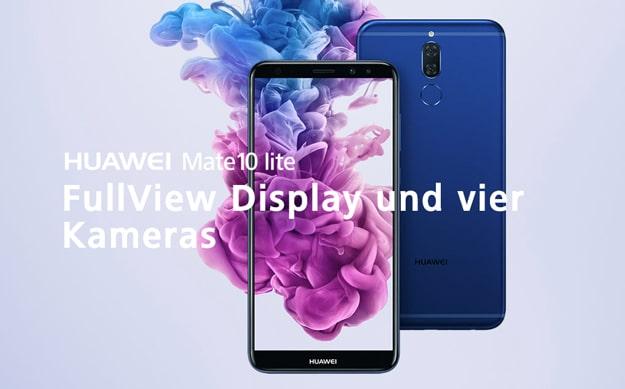 Huawei Mate 10 Lite mit oder ohne Vertrag kaufen