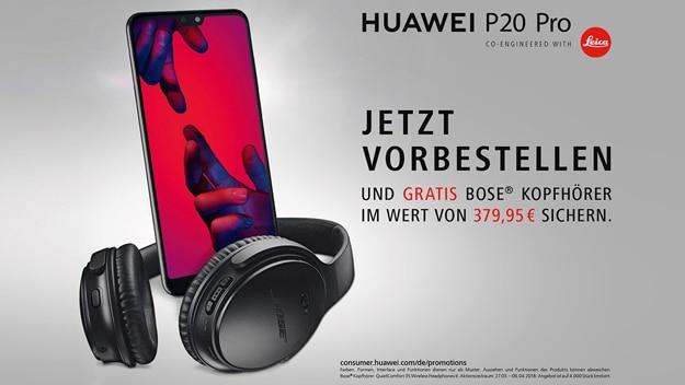 Huawei P20 / P20 Pro mit Aktion