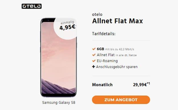 s8 otelo allnet flat max
