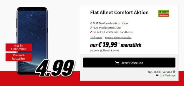 s8 vodafone flat allnet comfort md