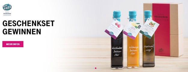 Telekom Mega-Deal gratis Apfel-Blasam-Essig oder Limonenöl vomFASS
