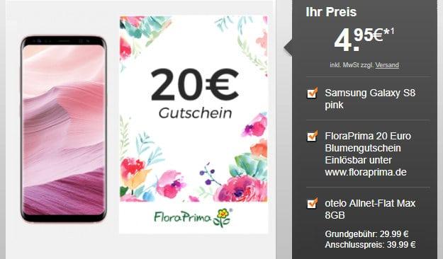 Galaxy S8 + otelo Max
