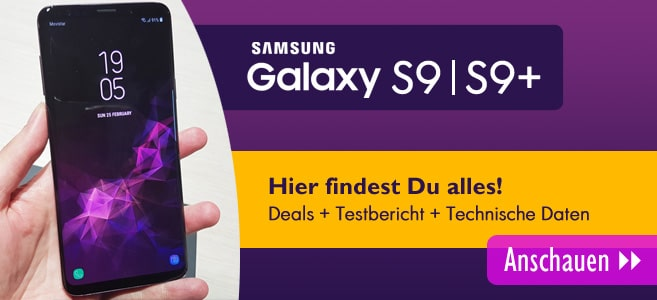 Samsung Galaxy S9 - Slider