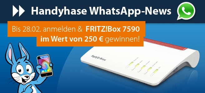 Whatsapp-News FritzBox