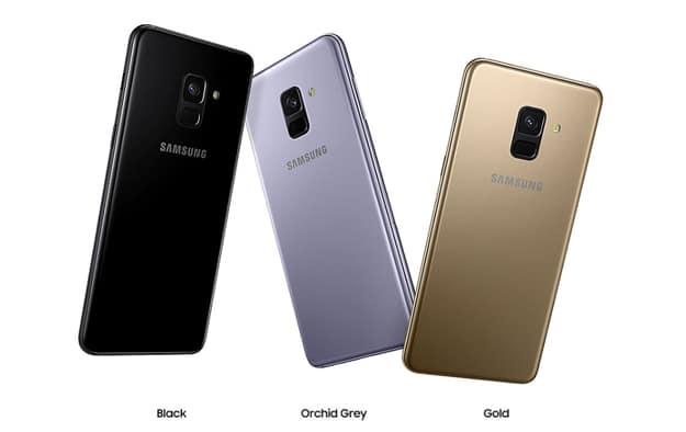 Samsung Galaxy A8 Duos ist in drei Farben verfügbar