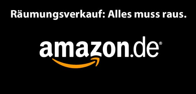 Amazon Aktion - Räumungsverkauf und Restposten