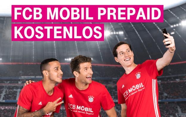 gratis FCB Mobil Prepaid-Starterpaket
