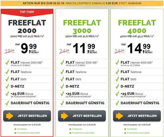 freenetmobile mit freeFLAT