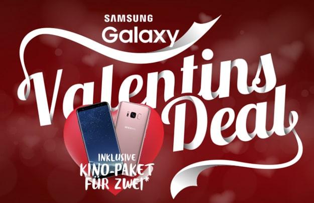 Samsung Galaxy S8 mit o2 Free M bei Sparhandy + Kino-Gutschein