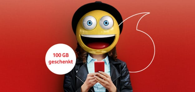 Vodafone Gigaboost 100 GB LTE Aktion