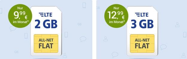 1&1 GMX Tarife SIM-only günstig buchen, Alternativen Tarife mit oder ohne LTE