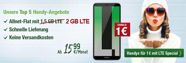 Huawei Mate 10 Lite smartmobil LTE Special