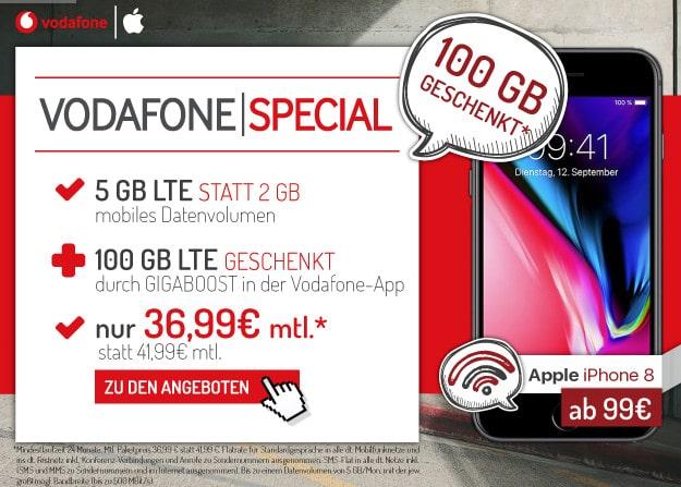 iPhone 8 + Vodafone Smart L Plus
