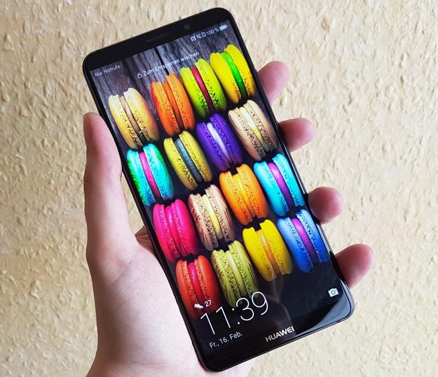 Huawei Mate 10 Pro im Test - OLED-Display mit guter Leistung