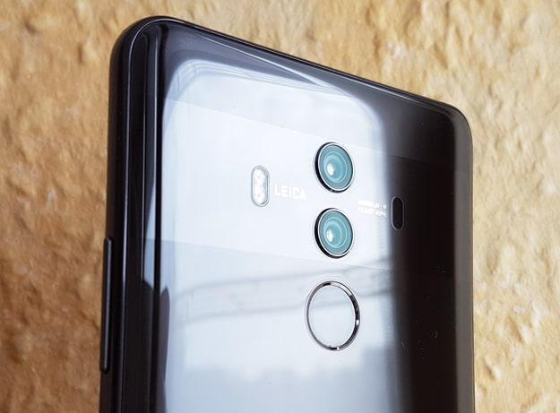 Dual-Kamera des Huawei Mate 10 Pro