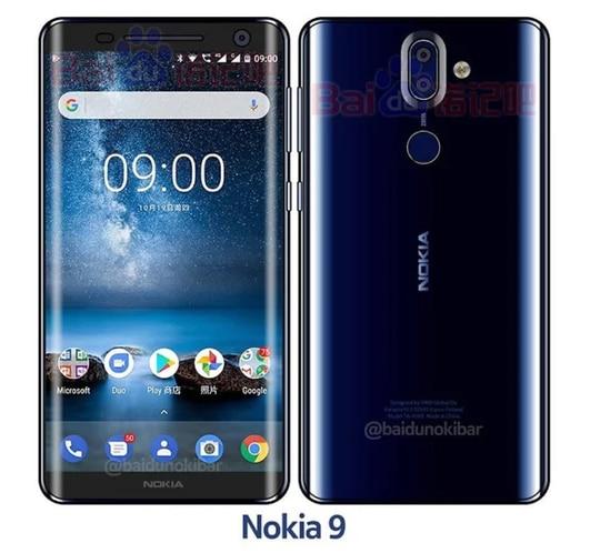 Nokia 9 - HMD Global Smartphone, MWC 2018