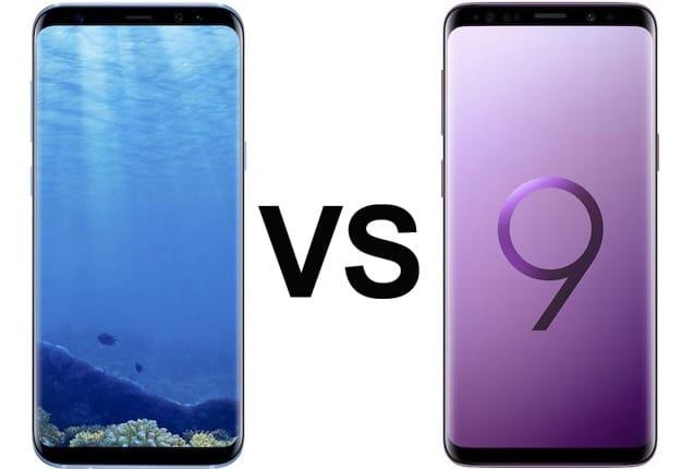 Samsung Galaxy S9 (Plus) und Samsung Galaxy S8 (Plus) im Vergleich: Preis, Specs und mehr
