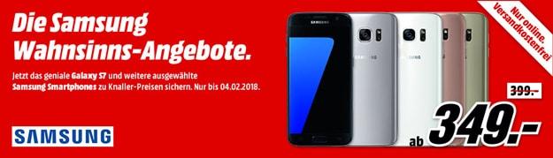 Samsung-Smartphones bei MediaMarkt zu Knaller-Preisen