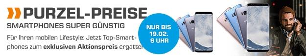 Saturn Smartphone Purzel Preis: Samsung Galaxy S8 oder Apple iPhone 7
