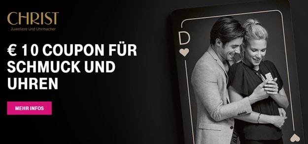 Telekom Mega Deal Christ Gutschein, Coupon im Wert von 10 €