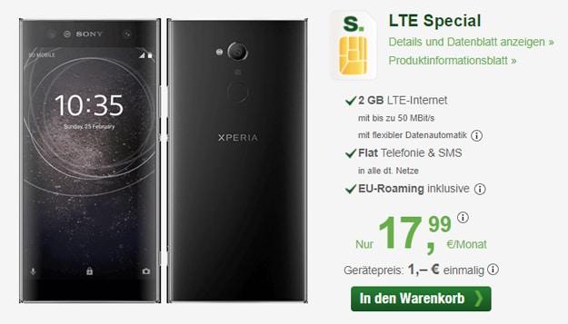 Sony Xperia XA2 + smartmobil LTE Special