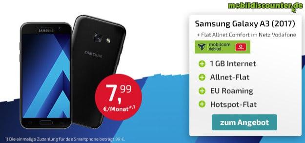 Galaxy A3 + Flat Allnet Comfort Vodafone
