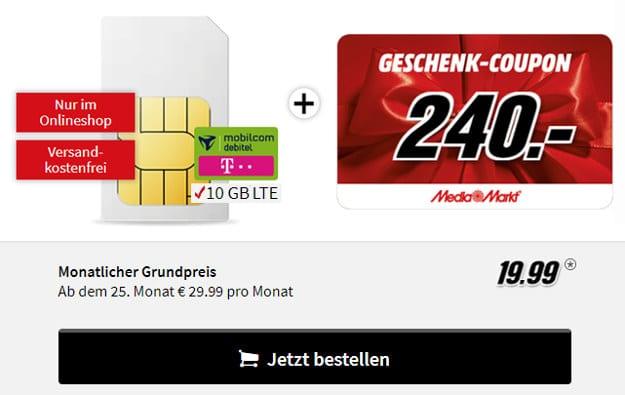 Internet Flat 10 GB LTE Telekom