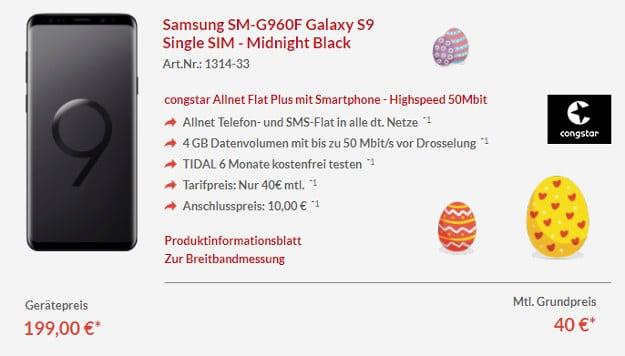 S9 + congstar