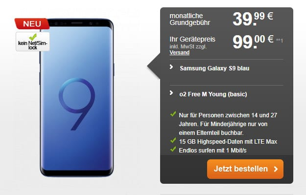 S9 + o2 Free M