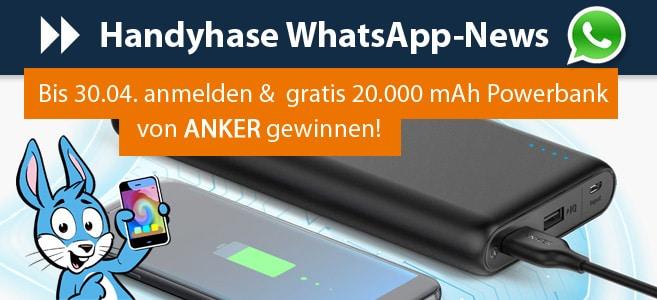 Anker PowerCore Speed 20.000 mAh - Gewinnspiel