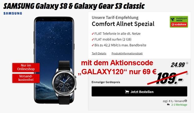 galaxy s8 vodafone comfort allnet md