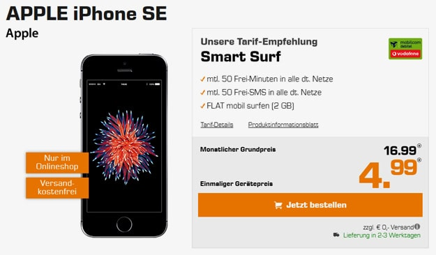 iphone se smart surf md