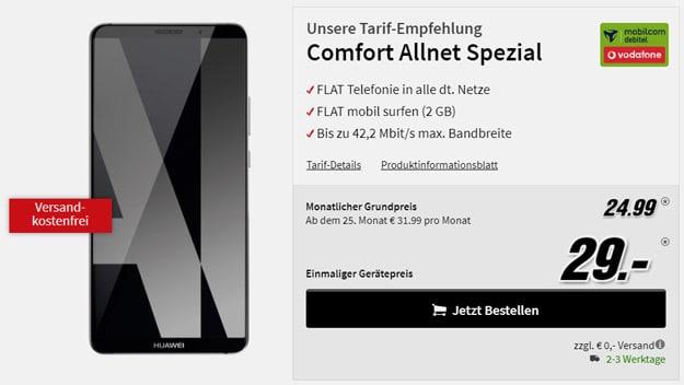 Huawei Mate 10 Pro mit Vodafone Comfort Allnet (md)